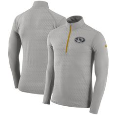 Missouri Tigers Nike Dry Element Half-Zip Performance Jacket - Gray - $74.99