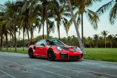 GT2RS in Key Biscayne
