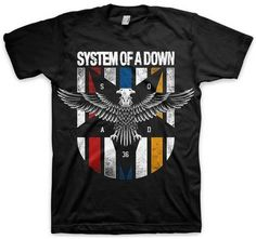 b2b3ee6314 System of a Down- Eagle Shirts - AllPosters.ca