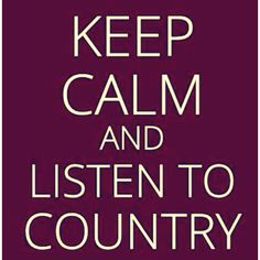 In love with country...singers ;)
