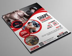 """Check out new work on my @Behance portfolio: """"Fitness/ GYM Flyer"""" http://be.net/gallery/36013003/Fitness-GYM-Flyer"""