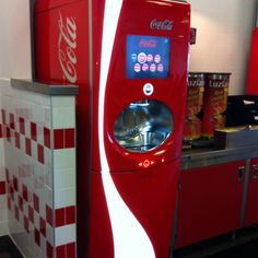 New Coke Freestyle Machine - 106 different flavors of Coca ...