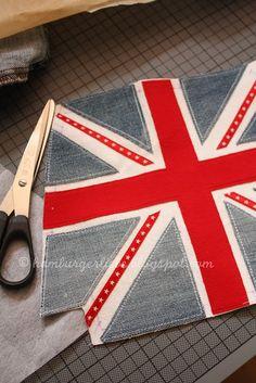 How to make a Union Jack bag