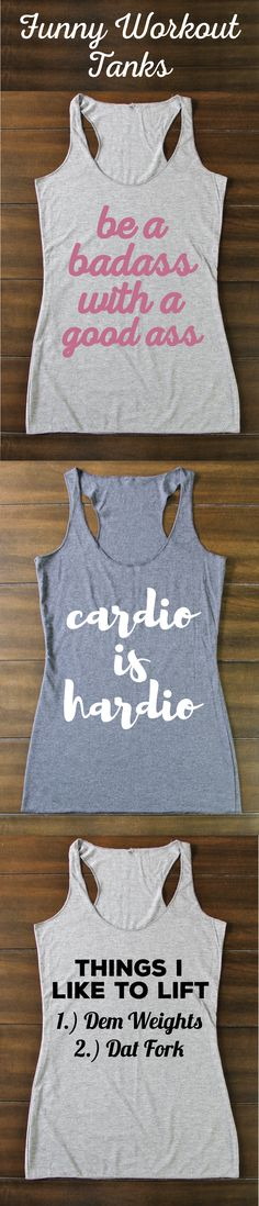 Funny Workout Tanks - Funny Crossfit Tanks - Gym Tanks