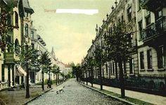 Ulica Wajdeloty we Wrzeszczu / Wajdeloty Street, 1000 Years, Danzig, Old City, Historical Photos, Poland, Old Things, Street, Artsy, Travel