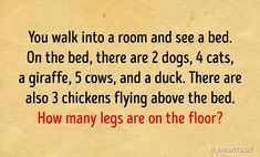 10 Tricky Riddles That Can Leave Anyone Confused - Humor 10 Riddles, Riddles With Answers Clever, Brain Teasers Riddles, Brain Teasers For Kids, Funny Riddles, Puns Jokes, Funny Puns, Confusing Questions, This Or That Questions