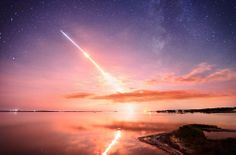 LADEE Launch and the Milky Way Photo by Jeff Berkes -- National Geographic Your Shot