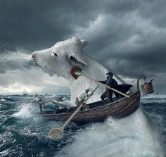 4 Creative Photoshop Artists Who Cleverly Manipulate Landscapes [PHOTOS]