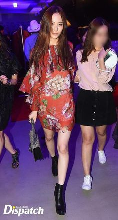 150904 Krystal f(x) = GUCCI Pop-Up Store Opening Party