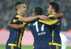 RUMOURS: Fenerbahce duo Nani and Robin van Persie are being targeted by Chinese Super League side Shanghai Shenhua Robin Van, Van Persie, Shanghai, Sports, Goal, Hs Sports, Sport