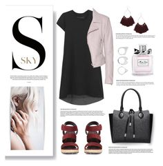 """""""The sky is the limit."""" by vigilexi ❤ liked on Polyvore featuring Sacai, Dollhouse, Balenciaga, Michael Kors, Moratorium, Christian Dior and Topshop"""