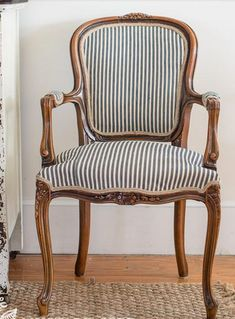 Simply reupholstered chair #ReupholsterChair