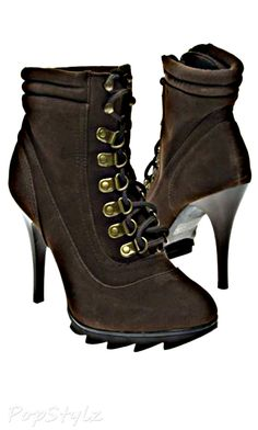 V-Luxury Styluxe Spirit Lace Up Stiletto Boot