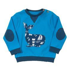 Kite Clothing SS15 Baby Boys Whale sweatshirt