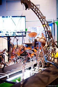 Les Machines de l'Ile de Nantes par Le Voyage à Nantes #maker #makerfaireparis #MFP15  #play