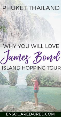 What To Expect On The Famous Phuket James Bond Island Tour | There are tons of things to do in Phuket, especially excursions from the area. If you're trying to plan how to get from one place to the next during your vacation or honeymoon, you will wa