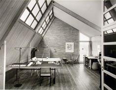 Reportage über den Architekten Ernst Gisel und seine Familie-Archiv (Studienarbeiten) Reportage, Windows, Studio, Bedroom, Table, Happiness, Museum, House, Interiors