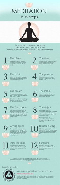 Meditation In 12 Steps Pictures, Photos, and Images for Facebook, Tumblr, Pinterest, and Twitter