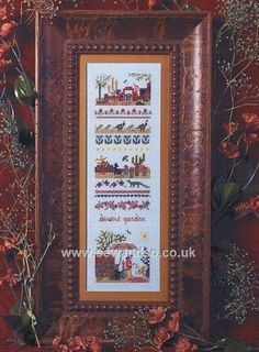 Buy+89+-+Desert+Garden+Sampler+Chart+Leaflet+Online+at+www.sewandso.co.uk