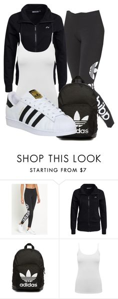"""Untitled #45"" by iamaddad on Polyvore featuring adidas Originals, Only Play, M&Co and adidas"
