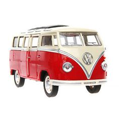 Meizhi-Toys-1-24-Alloy-Diecast-Volkswagen-VW-BUS-T1-Micro-Bus-Model-Collection