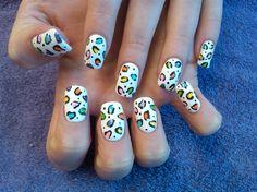 danielles cheetah bright by aliciarock - Nail Art Gallery nailartgallery.nailsmag.com by Nails Magazine www.nailsmag.com #nailart