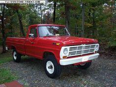 1969 ford truck   1969 Ford F250 4x4 - 1969 F-250 4X4