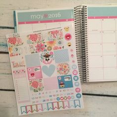 MAY Planner Stickers - Monthly Headers - Mother's Day, Planner Sticker Bundle - May Collection, Erin Condren Stickers, Life Planner Stickers, Planner Accessory