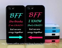 iphone 5c Best Friend BFF Couple Cases,double case iphone case