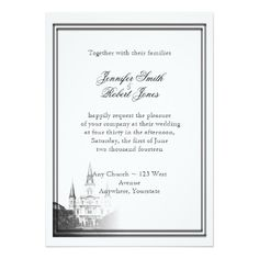New Orleans Destination Wedding Invitation