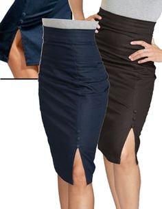 Steady Clothing Rock Steady Women's Stretch Denim Skirt