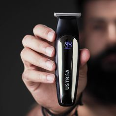 Chrome - Lithium Powered Beard Trimmer A badass beard needs a badass trimmer. But don't just go on the looks, this bad boy is designed to make your beard look perfect. Cordless Beard Trimmer, Badass Beard, Beard Look, Classic Suit, Beard Trimming, Just Go, Chrome, Hairstyle, Creative