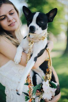 Pup of Honor: DIY Bridal Dog Leash | Free People Blog #freepeople