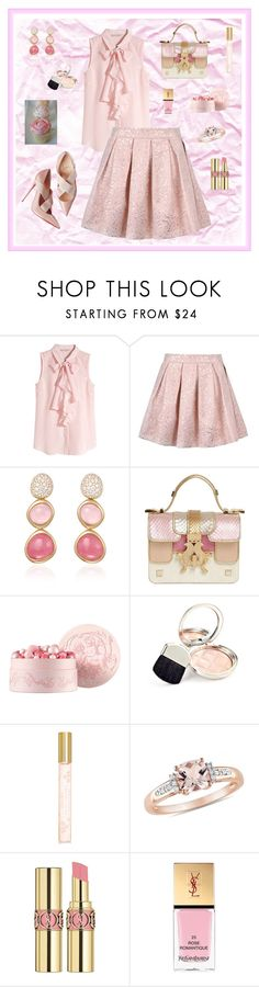 """""""Untitled #229"""" by maurogianni-za ❤ liked on Polyvore featuring H&M, Fred, Giancarlo Petriglia, Guerlain, By Terry, Marc Jacobs, Yves Saint Laurent, women's clothing, women's fashion and women"""