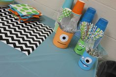 1st Birthday Monster Party