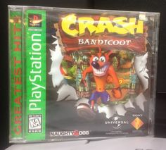 Game Crash Bandicoot 1  Greatest Hits Americano E Lacrado Ps1