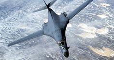 Bombardero B-1    China, preocupada por posible despliegue de bombarderos de EEUU en Australia  Más: https://mundo.sputniknews.com/asia/201603091057478291-china-preocupacion-eeuu-australia/