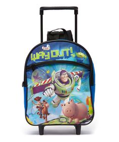Look at this Toy Story 3 Rolling Backpack on #zulily today!