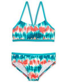 Nike Girls' 2-Piece Tie-Dye Bikini
