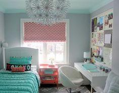 Mädchenzimmer klein stilvoll einrichten