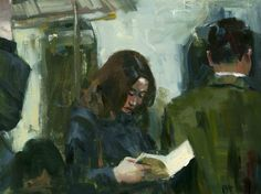 Paperback Evening Train