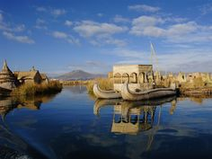 Floating Uros Islands, Lake Titicaca Puno, Peru | HQ Wallpapers for PC