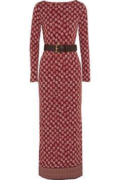 MICHAEL Michael Kors|Printed stretch-jersey maxi dress|NET-A-PORTER.COM