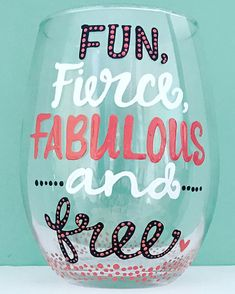 Fun fierce fabulous and free Congrats on your divorce