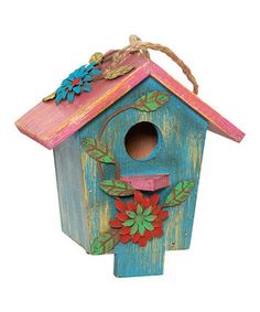 to make for the yard!! cute birdhouse