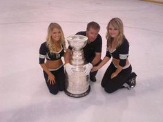 Kings take Cup on Rink tour with the beautiful and talented LA Kings Ice Crew