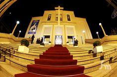 Quero essa foto da Igreja e também com os padrinhos enfileirados antes da entrada e pós cerimônia