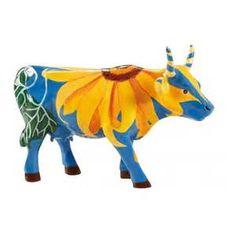 Cow Parade Figurine Sun Flowers 47845