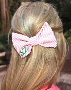 Greek Letters Bow Tie Bow