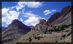 The Kye Gompa is a Tibetan Buddhist Monastery in the district of Spiti and is an acclaimed research and study centre of Buddhists in India. It is located at an altitude of 4166 m by the Spiti River. The oldest and the largest monastery in Spiti, the Kye Monastery is home to around 300 lamas who receive their religious education here  The monastery is the storehouse of some of the most important Buddhist scriptures and rare paintings.
